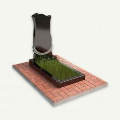 Плитка на могилу (тротуарная)