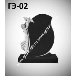 Памятник элитный ГЭ-02, черный