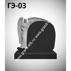 Памятник элитный ГЭ-03, черный