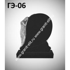Памятник элитный ГЭ-06, черный