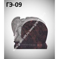 Памятник элитный ГЭ-09, коричневый