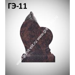 Памятник элитный ГЭ-11, коричневый