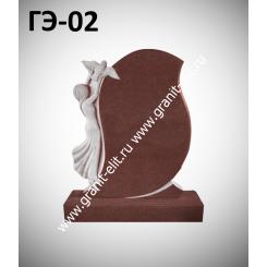 Памятник элитный ГЭ-02, красный