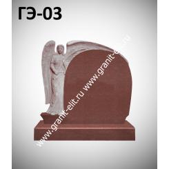 Памятник элитный ГЭ-03, красный