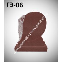 Памятник элитный ГЭ-06, красный