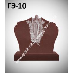 Памятник элитный ГЭ-10, красный