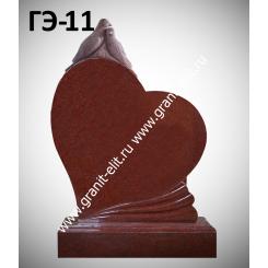 Памятник элитный ГЭ-11, красный
