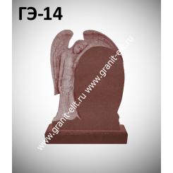 Памятник элитный ГЭ-14, красный