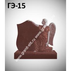 Памятник элитный ГЭ-15, красный