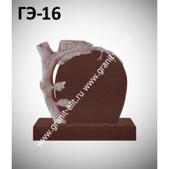 Памятник элитный ГЭ-16, красный