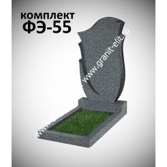 Памятник фигурный ФЭ-55, эконом, темно-серый, высота 1000 мм