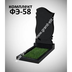 Памятник фигурный ФЭ-58, Карелия, эконом, высота 1000 мм