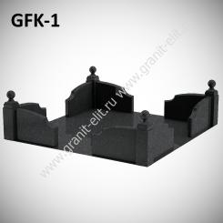 Ограда гранитная GFK-1