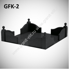 Ограда гранитная GFK-2