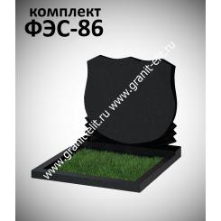Памятник семейный ФЭС-86, Карелия, стела 700 мм