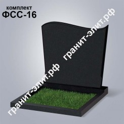 Надгробие из гранита семейное ФСС-16