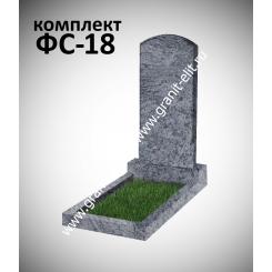 Памятник фигурный ФС-18, голубой