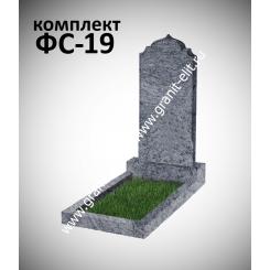 Памятник фигурный ФС-19, голубой