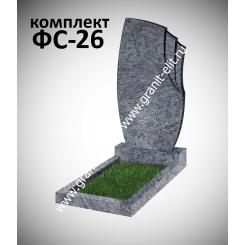 Памятник фигурный ФС-26, голубой
