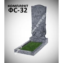 Памятник фигурный ФС-32, голубой