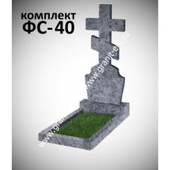 Памятник фигурный ФС-40, голубой