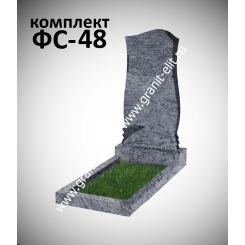 Памятник фигурный ФС-48, голубой