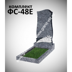 Памятник фигурный ФС-48Е, голубой
