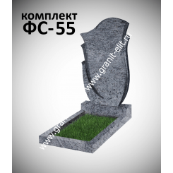 Памятник фигурный ФС-55, голубой