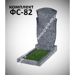 Памятник фигурный ФС-82, голубой