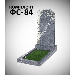 Памятник фигурный ФС-84, голубой