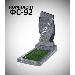 Памятник фигурный ФС-92, голубой