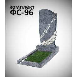 Памятник фигурный ФС-96, голубой