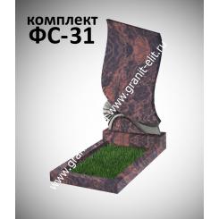 Памятник фигурный ФС-31, коричневый