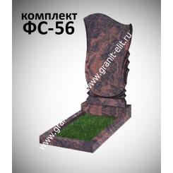 Памятник фигурный ФС-56, коричневый