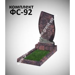Памятник фигурный ФС-92, коричневый