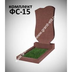 Памятник фигурный ФС-15, красный