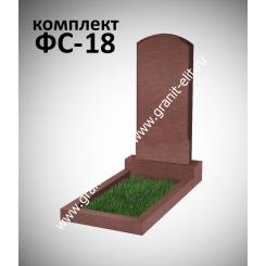 Памятник фигурный ФС-18, красный