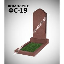 Памятник фигурный ФС-19, красный