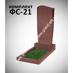 Памятник фигурный ФС-21, красный