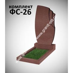 Памятник фигурный ФС-26, красный