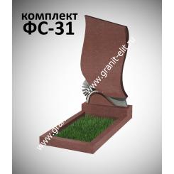 Памятник фигурный ФС-31, красный