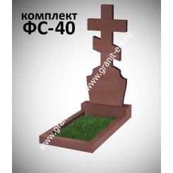Памятник фигурный ФС-40, красный