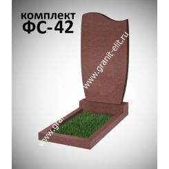 Памятник фигурный ФС-42, красный