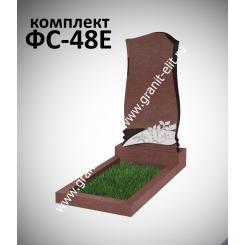 Памятник фигурный ФС-48Е, красный