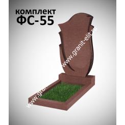 Памятник фигурный ФС-55, красный