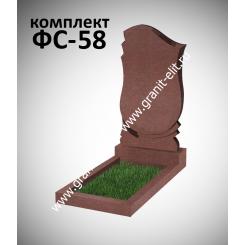 Памятник фигурный ФС-58, красный