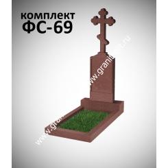 Памятник фигурный ФС-69, красный
