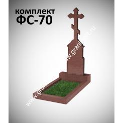 Памятник фигурный ФС-70, красный