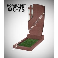 Памятник фигурный ФС-75, красный