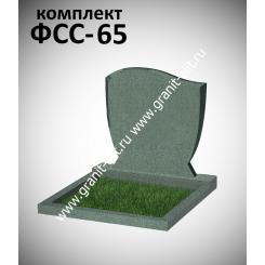 Памятник семейный ФСС-65, зеленый